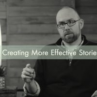 Creating More Effective Stories (video)