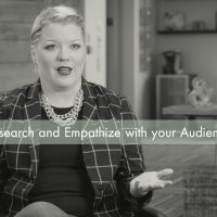 Research and Empathize with your Audience (Video)